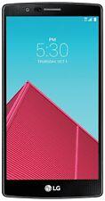 LG G4 Factory Unlocked 32GB Smartphone Verizon+GSM+CDMA Compatible-Black Leather