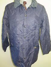 "Barbour D349 Liddesdale Chaqueta Acolchada-L 42-44"" euro 52-54 in Azul"