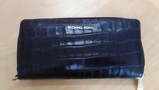 MICHAEL KORS money pieces travel continental embossed leather black 32f7gf6e4e
