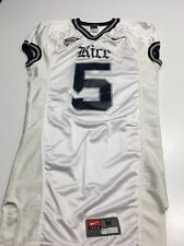 Game Worn Used Nike Rice Owls Football Jersey #5 Size M Gibson