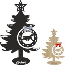More details for setter christmas tree and bauble xmas dog table decoration gundog