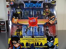 Batman Animated Series 4 Pack Catwoman Attacks