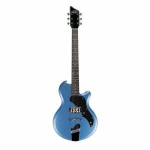 SUPRO  Electric Guitar Jamesport Ocean Blue Metallic  - Gold Foil Pickup