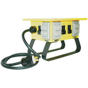 CEP 6507GU Power Distribution Box,30 AC,(4) 5-20R