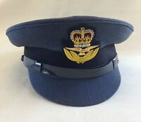 RAF Officers No1 Dress Cap, Hat, Badge, Military, Royal Air Force, Badge, Peak