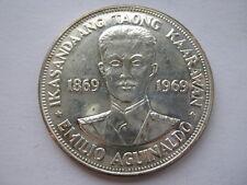 Philippines 1969 silver Piso