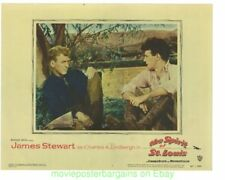 SPIRIT OF ST. LOUIS 6 LOBBY CARDS JAMES STEWART