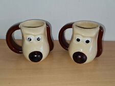 More details for wallace & gromit pg tips aardman mug cup 2005 x2