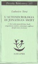 TERZI Ludovico - L'autonecrologia di Jonathan Swift
