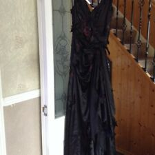 Sexy Halloween Zombie Corpse Bride Fancy Dress Ooak Custom prom evening gown