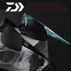 Daiwa outdoor Sport Fishing Polarized Sunglasses , Unisex with Resin lenses