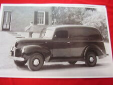 1940 FORD PANEL TRUCK     11 X 17  PHOTO   PICTURE