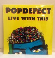 POPDeFECT - Live With This LP - 1988 Heart Murmur Records, Mint, Unopened