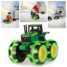 John Deere Inspired Monster Treads Lightning Wheels, Tractor Kids Toy