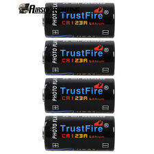 4X CR123A 3V 1400mAh Lithium Single Use Batteries for Torch PDAs MP3 MP4