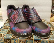 Five Ten Freerider Elc Psychedelic Red Blue shoes 10.0 Us New