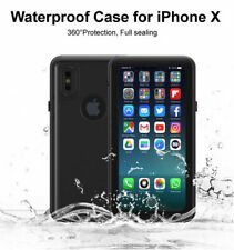 For iPhone X XS Waterproof Dustproof Mudproof Shockproof Protection Case Cover