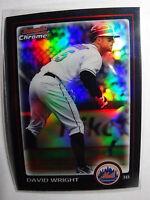 2010 Bowman Chrome #92 David Wright New York Mets Refractor Baseball Card