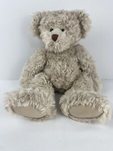 """Russ Berrie Toys From The Past """"Alanna"""" Teddy Bear 13"""" Tall Fluffy Plush Toy"""