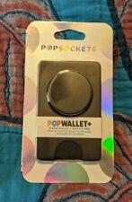 PopSockets Popwallet+ Plus Black Card Holder PopSocket Pop Socket Pop Wallet