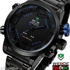 Elegante Orologio Uomo Weide 2309 Sport Classic Led Watch ORIGINALE Con Garanzia