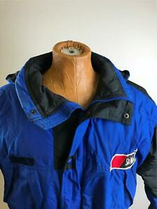 COLUMBIA Full Snap Up Down Insulated Blue Snow Ski Jacket Boy's Size 18 / 20