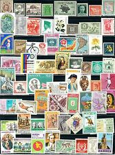 64 Different  MNH Stamps from 64 Different Countries.............A-7401