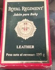 VINTAGE MAX FACTOR ROYAL REGIMENT LEATHER SOAP FOR MEN NEW WRAPPED