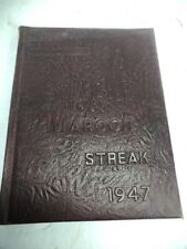 Maroon Streak 1947 Robinson Township High School Robinson Illinois Year Book