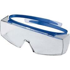 uvex super OTG 9169065 farblos/blau Schutzbrille Arbeitsschutzbrille Überbrille