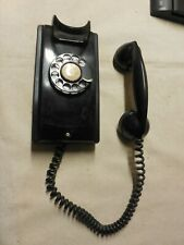 Wall Rotary Phone, Western Electric, Black 354 (T462) G-21