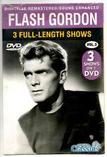 Classic Flash Gordon Tv show on Dvd, Volume 2, New in Shrink