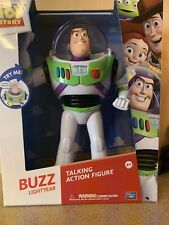 Disney Pixar Toy Story Buzz Lightyear 12 inch Talking Action Figure, New In Box
