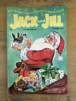 Vintage Jack And Jill Magazine Christmas December 1963