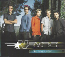 NSYNC I'LL NEVER STOP 3 TRACK CD SINGLE FREE P&P JUSTIN TIMBERLAKE BYE,BYE,BYE