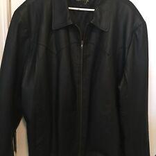 Mens 3x Leather Jacket