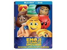 Emoji-Accendi le emozioni STEELBOOK 2 DISCHI BLU-RAY-BRD+DVD NUOVO SIGILLATO