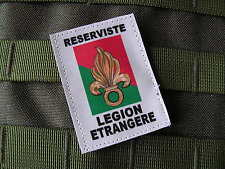 ..:: Patch écusson ::.. Légion étrangère RESERVISTE - REP REI RE DBLE PARA