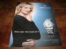 UMA THURMAN - PUBLICITE TAG HEUER !!!!!!!!!!!!!!