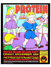 Protein Poster 1995 Original Man's Ruin Record Release Party Frank Kozik S/N