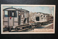 Wide Load Freight Train    1920's Vintage Card  VGC