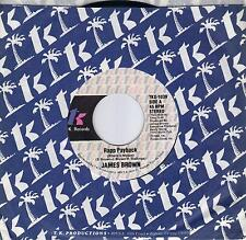 JAMES BROWN  Rapp Payback / Rapp Payback Part II  rare 45 from 1980