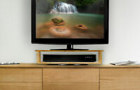 Prosumer's Choice Bamboo 2 Tier TV Swivel Base - 22 Inches Wide