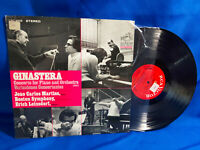 Erich Leinsdorf LP Ginastera RCA Victor Red Seal LSC-3029