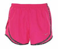 Nike Women's Dri Fit Lined Tempo Shorts Pink Black