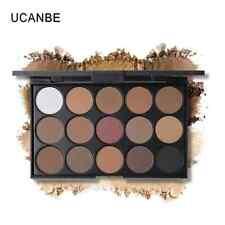 UCANBE Brand 15 Earth Color Shimmer Matte Eyeshadow Palette Makeup Kit Pigment