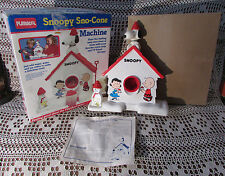 SNOOPY SNO-CONE MACHINE Vintage 1986 In Orig Box Playschool #526 Nearly Complete