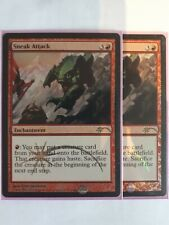 Mtg sneak attack judge foil x 1 great condition
