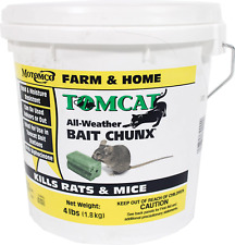 New listing Tomcat Bait Chunx Mouse Poison 4 Lb Rats Mice Killer Food Rodent - New