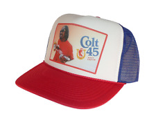 Colt 45 beer hat Snoop Dog Trucker Hat Mesh Hat Red White Blue New adjustable